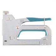 Степлер мебельный скобозабивной GROSS Handwerker 41000, стальной корпус, регулировка удара, тип скобы 53 4-14мм