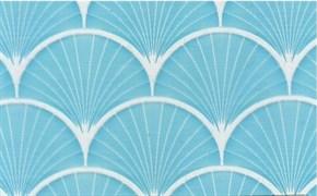 Пленка самоклеящаяся 9025В, 450ммх8м, витраж голубой