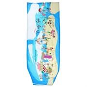 Чехол для гладильной доски Ника 129x51см, текстиль бязь с поролоном, рисунок Микс
