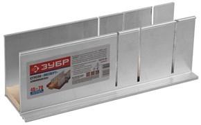 Стусло ЗУБР Эксперт 15378-80, для заготовок 45x70мм, алюминиевое с фанерой