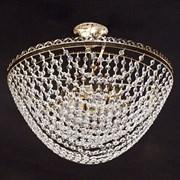 Люстра подвесная 6-рожковая E1015/6, 6х60W, Е27, диаметр 500мм, высота 430мм, QH17, AB бронза/хрусталь