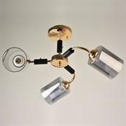 Люстра подвесная 3-рожковая 67510/3, 3х40W, E27, диаметр 590мм, высота 280мм, золото/черный