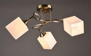 Люстра подвесная 3-рожковая N3500/3, 3х60W, E27, AB бронза