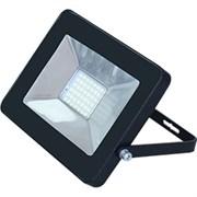 Прожектор светодиодный Ecola Projector LED, 10W, 4200К, 230В, IP65, тонкий, черный