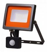 Прожектор светодиодный JazzWay РFL-SС-SMD-30Вт sensor 5001411, 30Вт, 6500K, IP54, матовое стекло