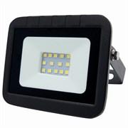 Прожектор светодиодный LEEK LE FL SMD LED7, 10W, CW, IP65, холодный белый, ультратонкий, черный