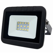 Прожектор светодиодный LEEK LE FL SMD LED7, 20W, CW, IP65, холодный белый, ультратонкий, черный