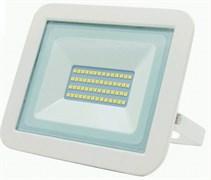 Прожектор светодиодный LEEK LE FL SMD LED7 040303-0027, 30W, CW, IP65, холодный белый, ультратонкий, белый