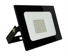 Прожектор светодиодный Smartbuy, 30W, 6500K, IP65, холодный свет, черный