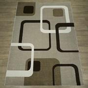 Ковер Фиеста 34110-36955 60х110см, прямоугольный, бежевый с рисунком
