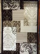 Ковер Круиз 22304-29655, 60х110см, прямоугольный, бежево-коричневый с рисунком