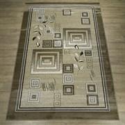 Ковер Круиз 22308-29626, 60х110см, прямоугольный, бежево-коричневый с рисунком