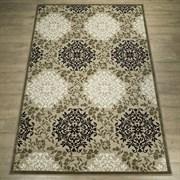 Ковер Круиз 22302-29626, 60х110см, прямоугольный, бежево-коричневый с рисунком