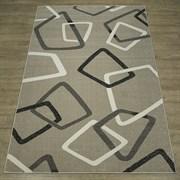 Ковер Фиеста 36135-36966, 60х110см, прямоугольный, бежевый с рисунком