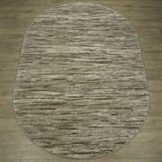 Ковер Веста 46106-45055, 60х110см, овальный, бежевый