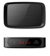 Приставка/ресивер TV-тюнер Praktis-1201, DVB-T2/C, full HD, wi-fi, 2USB, HDMI, RCA, дисплей, 3RCA-3RCA, цифровой, эфирный