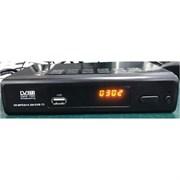 Приставка/ресивер TV-тюнер Praktis-168, DVB-T2/C, full HD, wi-fi, 2USB, HDMI, RCA, дисплей, 3RCA-3RCA, цифровой, эфирный, металлический