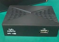 Приставка/ресивер TV-тюнер Praktis-900, DVB-T2/C, full HD, wi-fi, 2USB, HDMI, Jack 3.5- 3RCA, цифровой, эфирный, пластиковый, черный