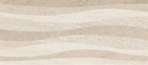 Плитка настенная керамическая облицовочная РИО 130363, 20x45см, глянцевая, бежевые полосы