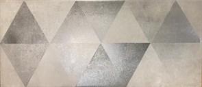 Плитка настенная керамическая облицовочная 334772 Тренд Декор, 20x45см, матовая, серый