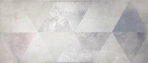 Плитка настенная керамическая облицовочная 334773 Тренд Декор, 20x45см, матовая, серый