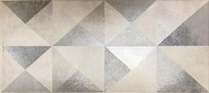Плитка настенная керамическая облицовочная 334771 Тренд Декор, 20x45см, матовая, серый