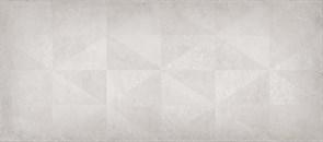 Плитка настенная керамическая облицовочная 131072 Тренд Декор, 20x45см, матовая, серый средний