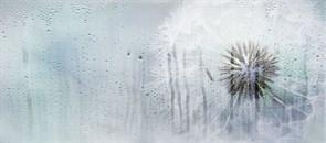 Плитка настенная керамическая облицовочная 131614 ROSA Деко, 20x45см, матовая, синий