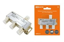 Разветвитель Сплиттер TDM Electric на 3TV, 5-1000MHz, без штекера