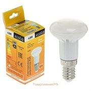Лампа светодиодная Ecola Light Reflector R39, LED, 2800K, 4Вт,  220В, E14
