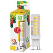 Лампа светодиодная ASD LED-JCD-standard, 3000К, 5Вт, 230В, 450Лм, G9