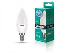 Лампа светодиодная Camelion LED10-C35/845Е14, 10Вт, 170-265В, Е14