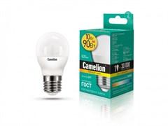 Лампа светодиодная Camelion LED10-G45/830/E27, 10Вт, 170-265В, Е27
