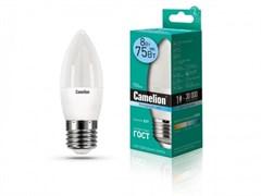 Лампа светодиодная Camelion LED8-C35/845/E27, 8Вт, 170-265В, E27