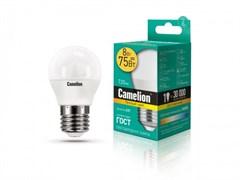 Лампа светодиодная Camelion LED8-G45/845/E27, 8Вт, 170-265В, E27