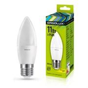 Лампа светодиодная Ergolux LED-C35-11W-Е27-3К, 11Вт, 180-240В, Е27