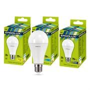 Лампа светодиодная Ergolux LED-A65-20W-E27-4K, ЛОН, 20Вт, 180-240В, Е27