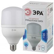 Лампа светодиодная Эра LED POWER T100, 4000К, 30Вт, 220В, Е27
