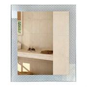 Зеркало фигурное с матированным рисунком САНАКС 45617, 500х600мм, комбинированоое