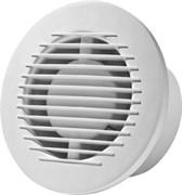 Вентилятор бытовой вытяжной E-EXTRA ЕА-125, с шариковым подшипником 125мм, накладной, белый