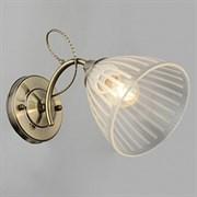 Светильник настенный/бра N3844/1, 1x40W, E27, высота 210мм, QH20, AB бронза