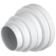 Соединитель круглых воздуховодов эксцентриковый ERA ПУ16.15.12,5.12.10.8, диаметры: 160/150/125/120/100/80мм