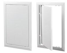 Люк-дверца ревизионный, ЭРА AD3535, 368х368мм, с фланцем 346х346мм, нажимной, пластиковый