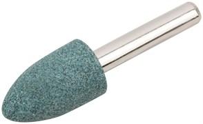 Шарошка абразивная FIT 36980, 14x25мм, по камню, мрамору и кафелю, Цилиндр острый