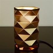 Настольная лампа T90670/1, высота 190мм, 1х40W, E27, SHGN19, золото