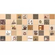 Панель-фартук ПВХ Мозаика Кофе с молоком 221кмб, 488х955мм, толщина 0.3мм, бежевый