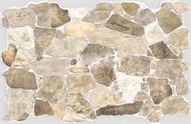 Панель-фартук ПВХ Мозаика Камень дикий, 992x648x0.6мм, бежевый
