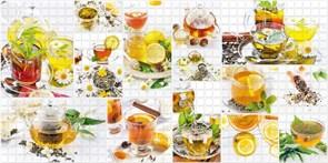 Панель-фартук ПВХ Мозаика Калейдоскоп К-09 Русский чай, 960x480x0.3мм