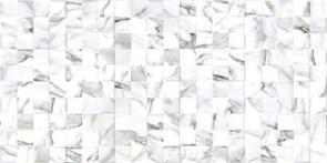 Панель-фартук ПВХ Мозаика Калейдоскоп К-13 Шашки, 960x480x0.3мм