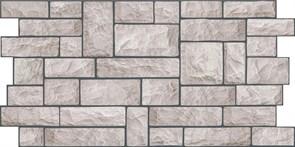 Панель-фартук ПВХ Мозаика Калейдоскоп К-18 Камень серый, 960x480x0.3мм